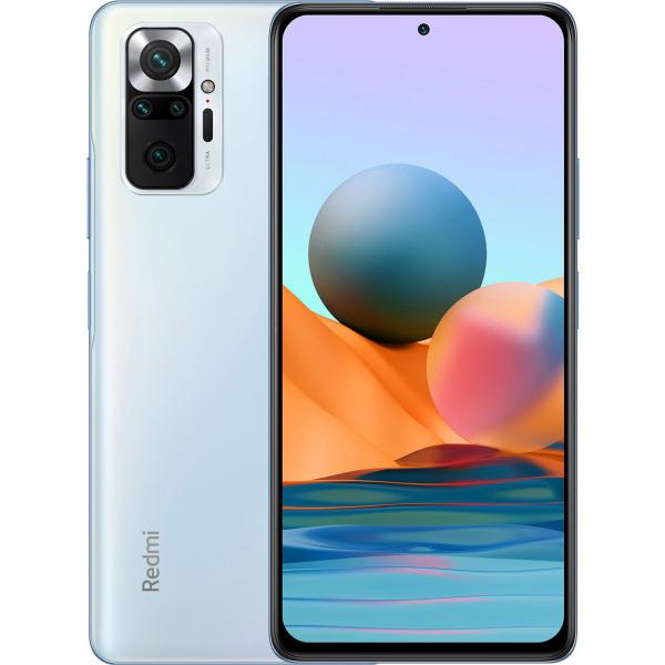 Мобильный телефон XIAOMI Redmi Note 10 Pro 8+128 Glacier Blue LTE
